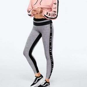 VS Pink Ultimate High Waist Colorblock Leggings